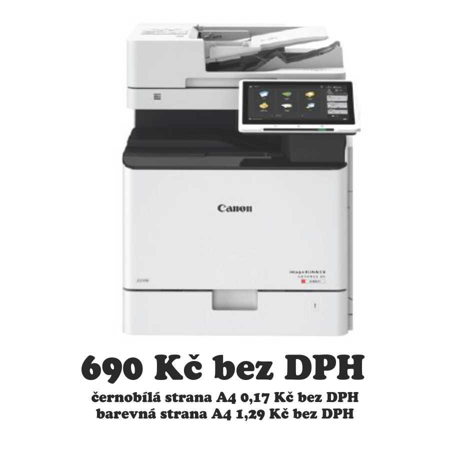 Pronájem Canon iR-ADV DX C257i